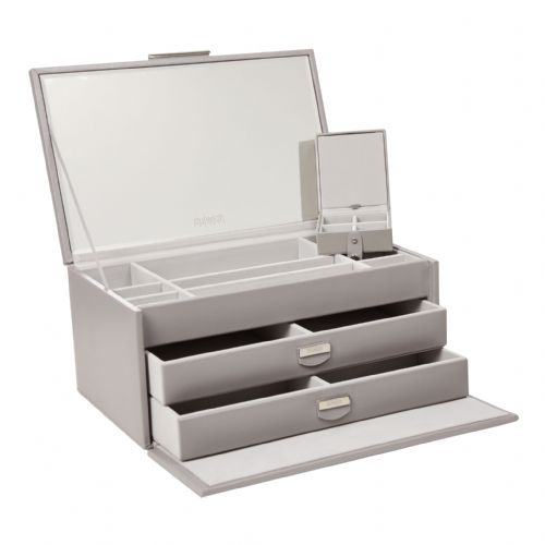 71176 Dulwich Designs  Notting Hill Large Grey Jewellery Box 71176